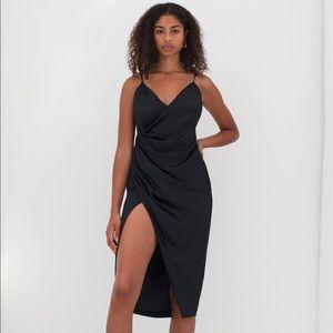 Aritzia ten by Babylon spades dress in black